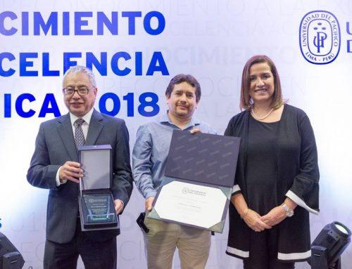 Reconocimiento a la Excelencia Académica  – Universidad del Pacífico 2018