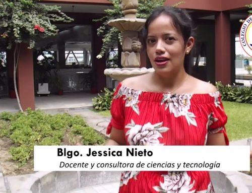 Profesora Jessica Nieto elegida bióloga de la semana por el Colegio de Biólogos del Perú