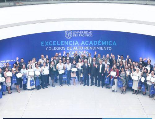 Reconocimiento a la Excelencia Académica – Universidad del Pacífico